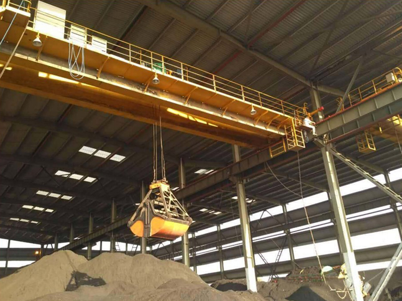 Bulk clamshell Bridge Crane